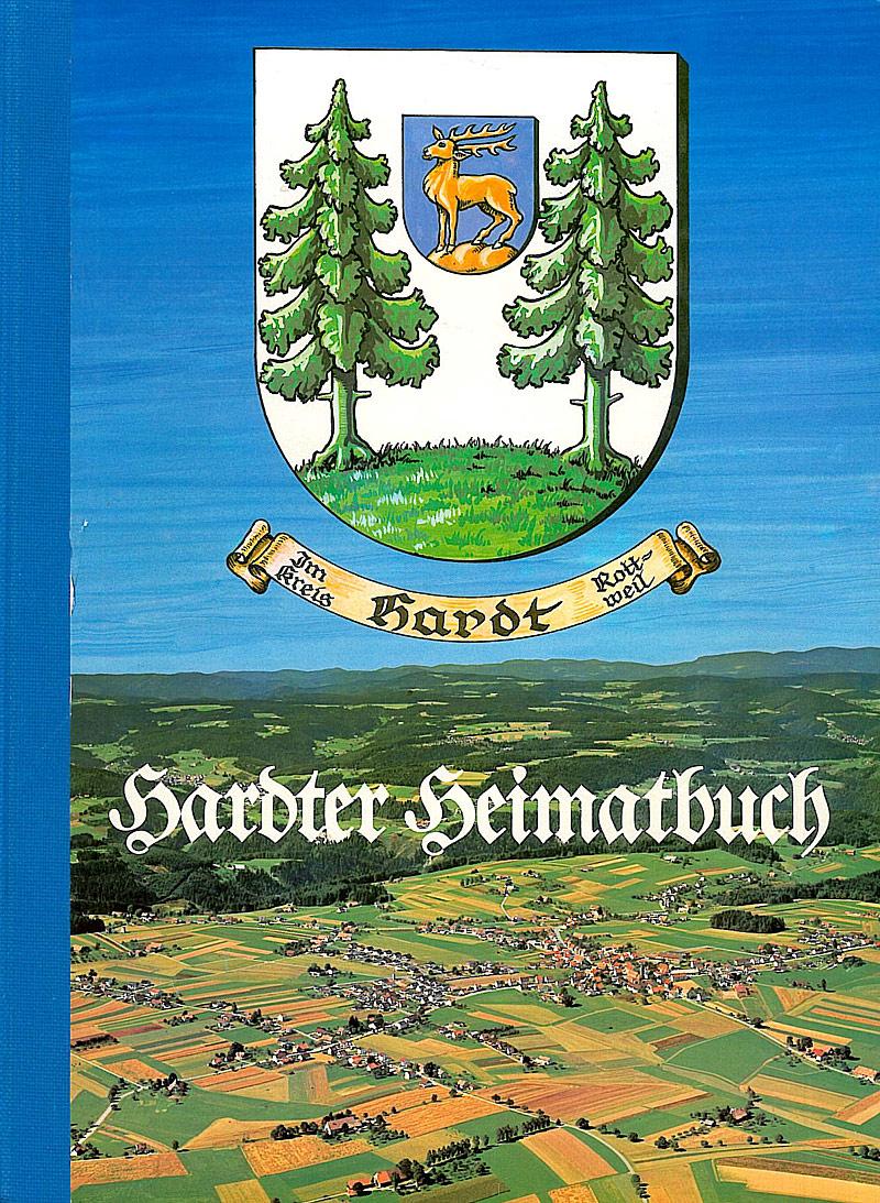 Deckblatt Hardter Heimatbuch