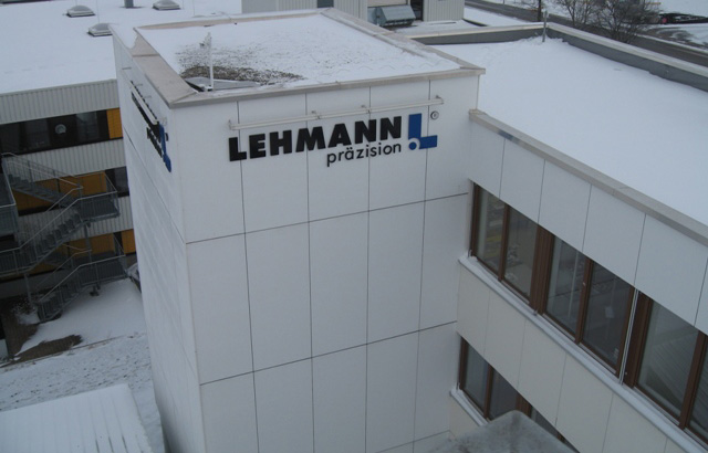 Firmengebäude Lehmann Präzision