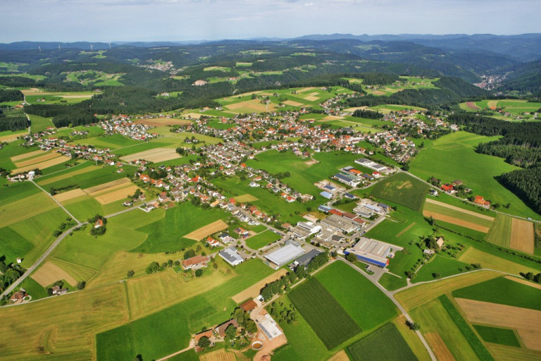 Luftfoto Hardt