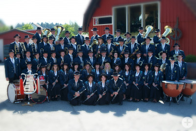 Gruppenbild Musikverein Hardt