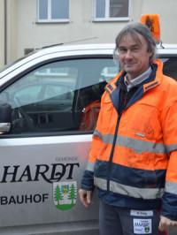 Bauhofleiter Markus Flaig
