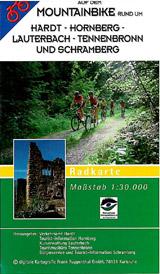 Mountainbikekarte Hardt