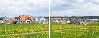 Panorama über Hardt